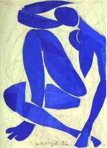 matisse - blue nude IV