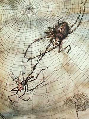 http://sxoliastesxwrissynora.files.wordpress.com/2010/04/the-spider-and-the-fly-illustration-from-aesops-fables-published-by-heinemann-1912.jpg