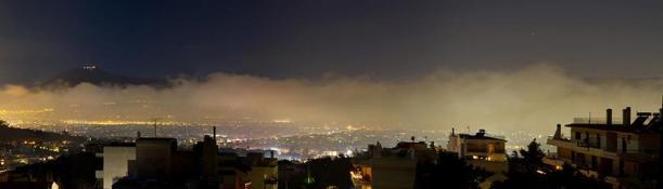 νέφος Αθήνας