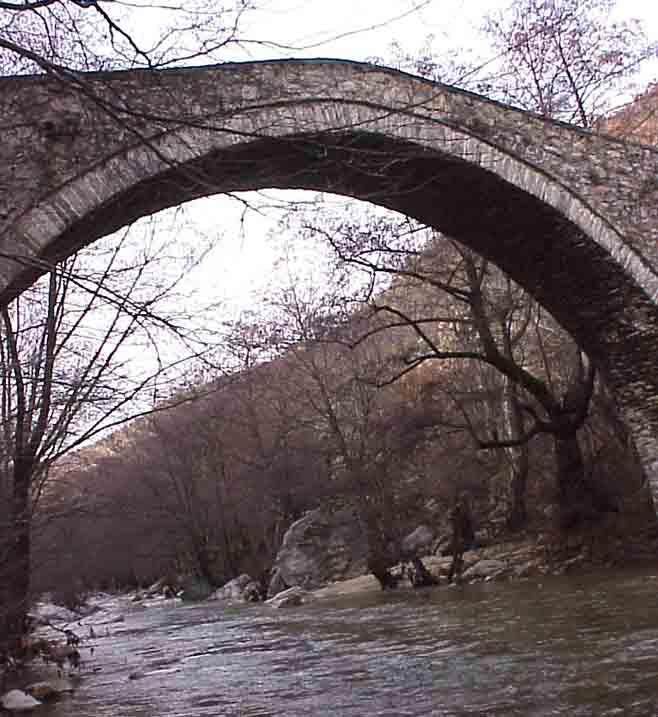 18. πέτρινη γέφυρα του παπά-Πομακοχώρια