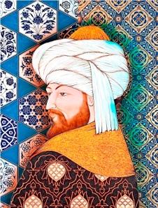 25. ciraganpk_ taner alakus_Fatih sultan mehmet - minyatür_1