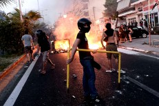 GREECE-UNREST-PROTEST-POLICE-EXTREMISM