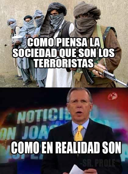 como en realidad son los terroristas