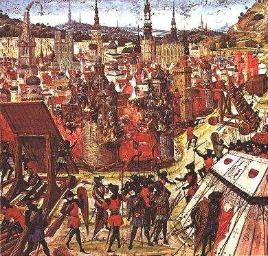 Δ' Σταυροφορία-1099 jerusalem