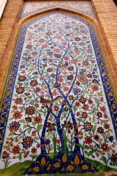 18. το Δέντρο της Ζωής-Vakil Mosque-shiraz-Iran