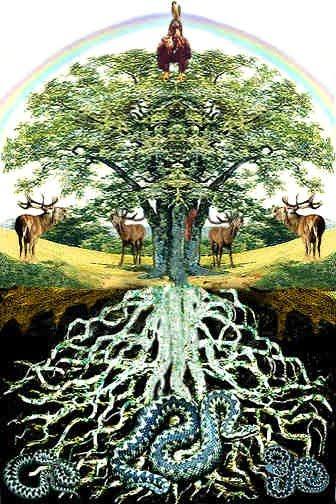 23. το Δέντρο της Ζωής-Skandinavia-Ygdrasil