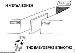 Εκλογές στην Ελλάδα-Η ψευδαίσθηση της ελεύθερης επιλογής.