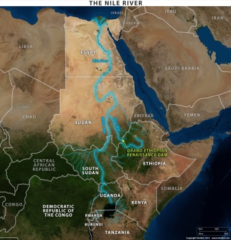 map-the-nile-river