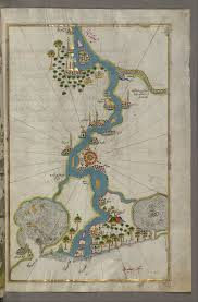 Piri Reis - Map of the River Nile