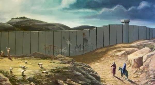 Χριστουγεννιάτικη κάρτα από τον Banksy