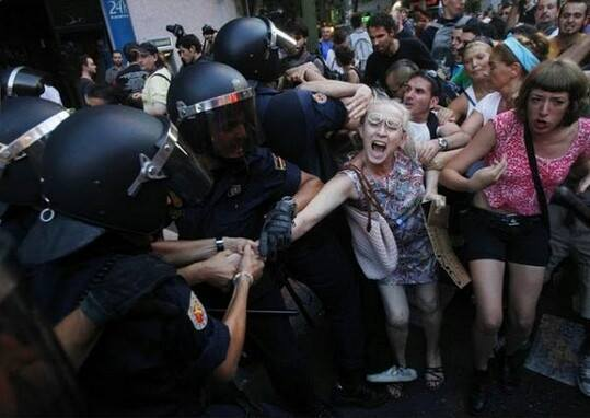 Spain-Ley Mordaza 1