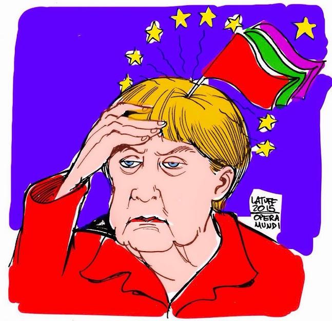 Merkel-SYRIZA & ANEL headache