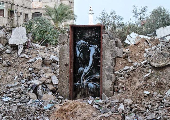 Ο Banksy στη Γάζα 1