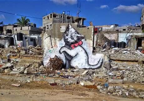 Ο Banksy στη Γάζα 2