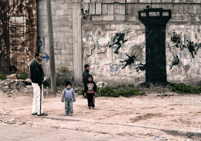 Ο Banksy στη Γάζα 3