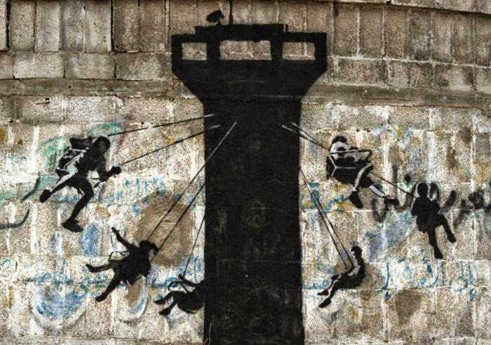 Ο Banksy στη Γάζα 4