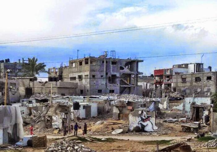 Ο Banksy στη Γάζα 8