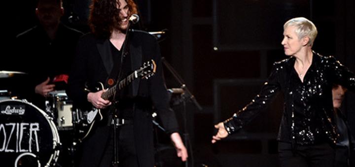 σύμπραξη Hozier-Annie Lennox