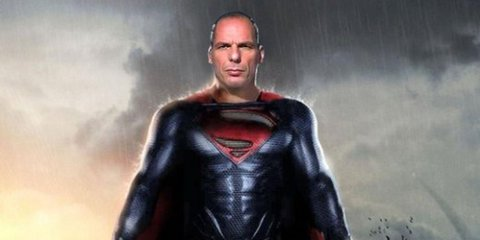 Varoufakis Superman