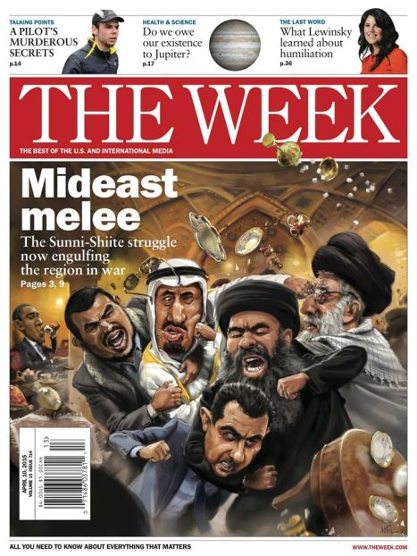 Middle East, April 2015