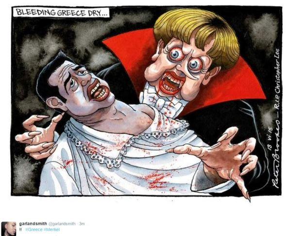 Bleeding Greece Dry