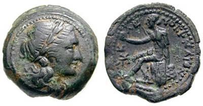 Νόμισμα Ελεύθερνας Κρήτης, 3ος αι. π.Χ.