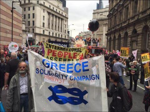 Manifestaciones Londres