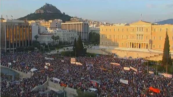 syntagma, 03-07-2015 OXI 2