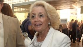 Η πρόεδρος της Ένωσης Δικαστών και Εισαγγελέων Βασιλική Θάνου-Χριστοφίλου (Δ) και ο πρόεδρος της Ένωσης Διοικητικών Δικαστών Γιώργος Φαλτσέτος (Α) συμμετείχε σε συγκέντρωση διαμαρτυρίας που πραγματοποίησαν δικαστικοί λειτουργοί, μέλη των έξι δικαστικών ενώσεων, στον Άρειο Πάγο ενάντια στις σχεδιαζόμενες περικοπές στις αποδοχές τους, Αθήνα, Τετάρτη 05 Σεπτεμβρίου 2012. ΑΠΕ-ΜΠΕ/ΑΠΕ-ΜΠΕ/ΣΥΜΕΛΑ ΠΑΝΤΖΑΡΤΖΗ