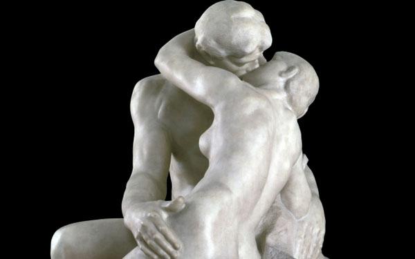 rodin kiss