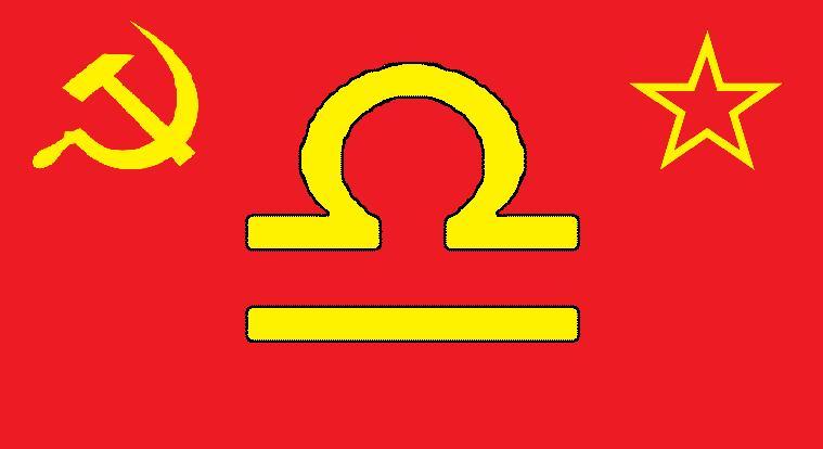 Communist Libra symbol