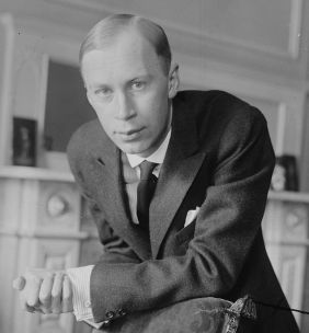 Sergei Prokofiev in New York, 1918