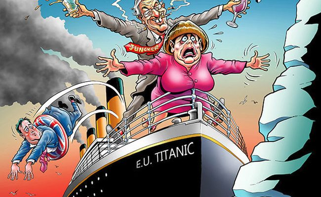 Brexit-Titanic