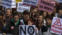 spain-student-protest