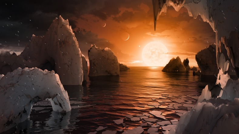 trappist-exoplanets-possible-representation